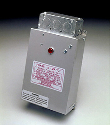 Phase-A-Matic - Static Phase Converter - Model Pam-100