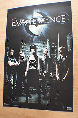 EVANESCENCE ~ Amy Lee ~  Autographed 24x36 Poster with COA ~
