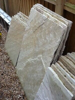 Indian Sandstone Calibrated Paving Patio Slabs