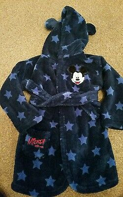 baby boys 12-18 months dressing gown