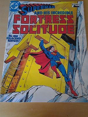 DC Superman And His Incredible Fortress Of Solitude Treasury Edition 26