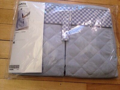 New IKEA NANIG Light blue Diaper stacker OR wall pocket