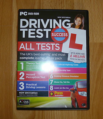 Driving Test Success New 2013 Edition PC DVD -ROM