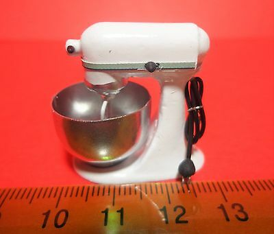 1:12 Scale Non Working  Food Mixer Dolls House Miniature Kitchen Accessory( W1)