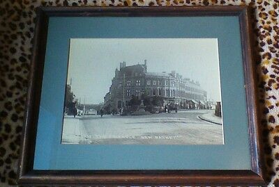 "Historical Framed Picture Print The Triangle, New Barnet 21"" x 17"""