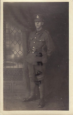 WW1 Soldier ACC Army Cyclist Corps