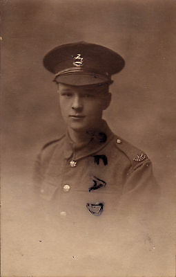 WW1 Soldier Kings Liverpool Regiment TF Territorials Rusholme photographer