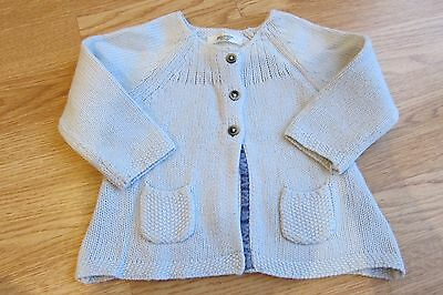 Boden Girls Cosy Cardigan 6-12 Months