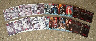 BATMAN & ROBIN MOVIE 1997 SKYBOX CARD JOB LOT DC COMICS 90s FILM CARDS MINT RARE
