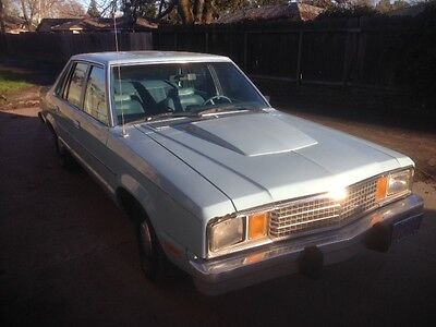 1980 Ford Fairmont  1980 Ford Fairmont 2.3l turbocharged 4 door sedan no reserve