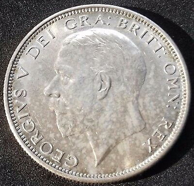 1926 Half Crown. Choice E/f With Lustre. George V British Silver Coins.