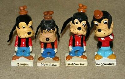 Pick 1 Vintage Walt Disney World Disneyland  Bobblehead Nodder  Goofy