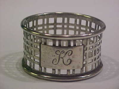 Antique Whiting Sterling Silver Napkin Ring