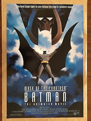 "Batman: Mask of the Phantasm 1993 Movie POSTER 27"" x 40"" Kevin Conroy, A Rolled"