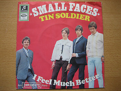 """Tin Soldier / I Feel Much Better (Small Faces), 7"""" Single EMI Columbia C23672"""