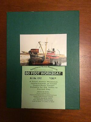 Sheepscott Scale Products 80 foot Workboat H0 Scale