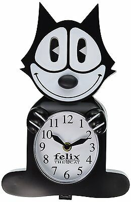 Felix The Cat Motion Clock Eyes And Tail Swing Back And Forth Classic Collection
