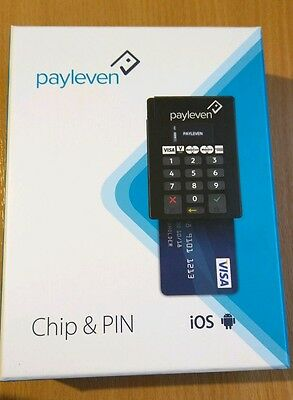 Brand New Boxed Payleven Chip & PIN Card Reader Machine - RRP £59
