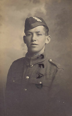 WW1 soldier Private Black Watch