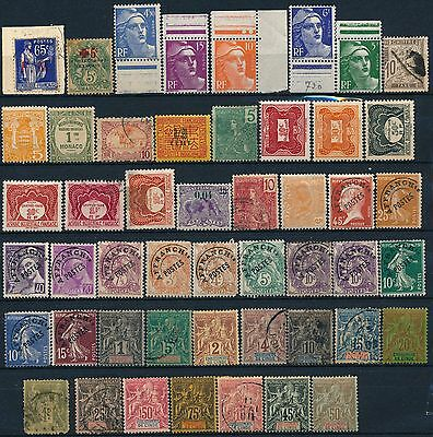 France & Colonies, Nice Um/nh, Mint & Used Lot Of Diff. Stamps  #a2198