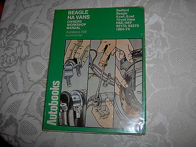 Bedford Beagle Ha Vans owners workshop manual