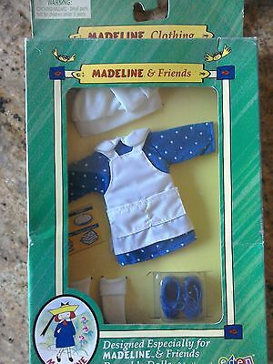 Making Treats Outfit for Madeline 8 inch Poseable Doll by Eden. MIB