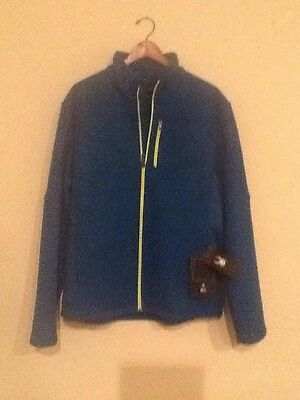 Nwt Spyder Mid Wt Core Sweater Full Zip #157358  Mens Xl Color Teal