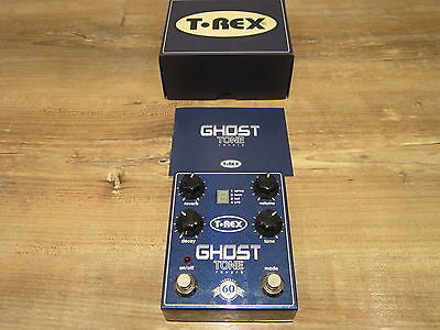T Rex Ghost Tone Reverb Pedal - Boxed, MINT !