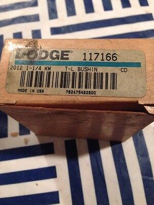 New In Box Dodge 117166 Taper-Lock Bushing 2012 X 1-1/4-Kw