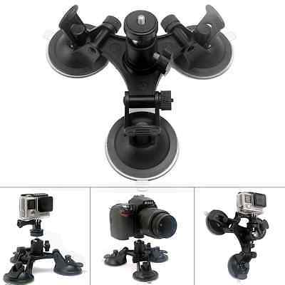 Fantaseal Tri-Cup DSLR Camera Suction Mount w/Ball Head for Nikon Canon Sony DSL