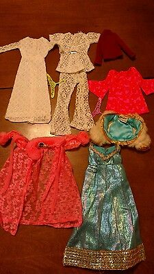 Vintage Barbie mod era clothes Blue Royalty, Lovely Sleep and more Lot