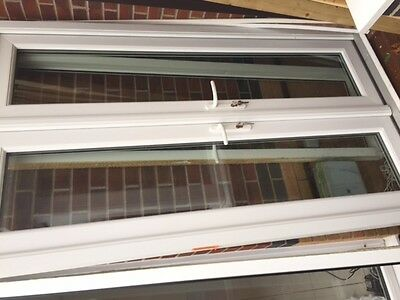 UPVC French Patio Doors and fixed side panels