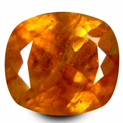 2.515 cts MARVELOUS LUSTER YELLOW NATURAL SPHENE CUSHION LOOSE GEMSTONES