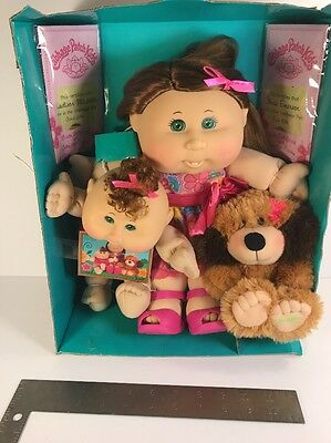 Cabbage Patch Kids Family Portrait 30th Anniversary 3 dolls. Pet, Baby, and Kid