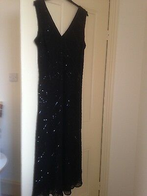Vintage Gatsby/flapper Style  Sequin Beaded Dress