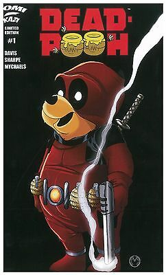 DEAD POOH #1 (ComiKaze Red Variant) NM!
