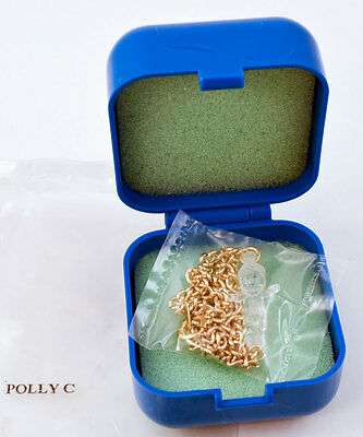 RARE *Mail-Away CRYSTAL POLLY Pocket Pendant VERSION C * UK Only NEW w/Packaging