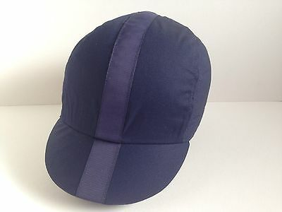 NAVY Colour ( SIZE - L )Cycling Cap Hand Made By Smith-London CLASSIC CYCLING