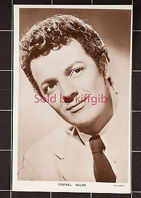 Picturegoer Real Photo Postcard-Actor-Cornel Wilde