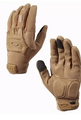 **Oakley Flexion Coyote Tan Gloves X Large Brand New W Tags Ballistic Free S/H**