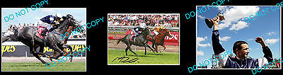 Michael Rodd Efficient Melbourne Cup Horse Racing Signed Photo +2 Photos