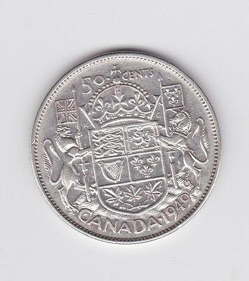 1949   Silver  50 Cent Coins