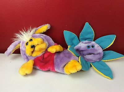Teddy Ruxpin Anything the Other Reversible Hand Puppet World Of Wonder 1986 Rare