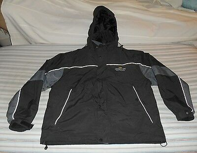 XL NORTH END ALL CLIMATE CHEVY PPV Police Patrol Vehicle JACKET Coat Black/Grey