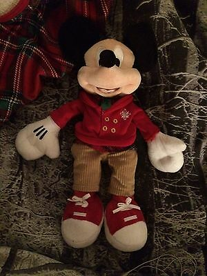 Disney Mickey Mouse Christmas 2016 Soft Toy