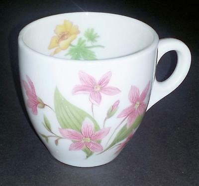 GREAT NORTHERN RAILROAD Syracuse China GNRR Mountains & Flowers Demi Cup
