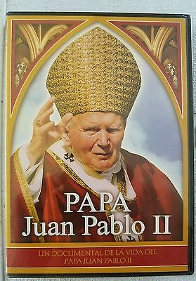 2 New  Papa Juan Pablo 11  Collectible Dvd.( Free World Wide Shipping  )