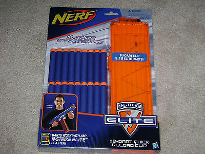Nerf 18 Dart Quick Reload Clip...***sealed***brand New***!!!!!!