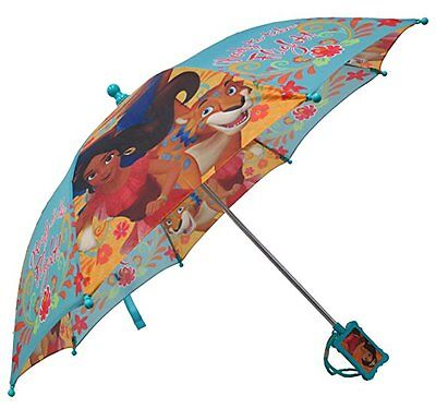 "Disney Elena Of Avalor  Girls 21"" Umbrella w/Figurine Handle"