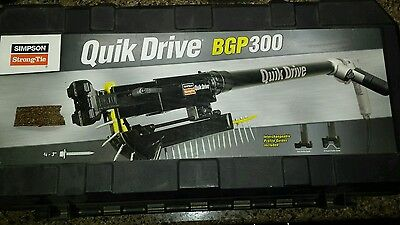 QUICK DRIVE QDBGP300 Auto Feed w/ Extension for Stand Up Driving   Simpson